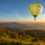 flyv i luftballon