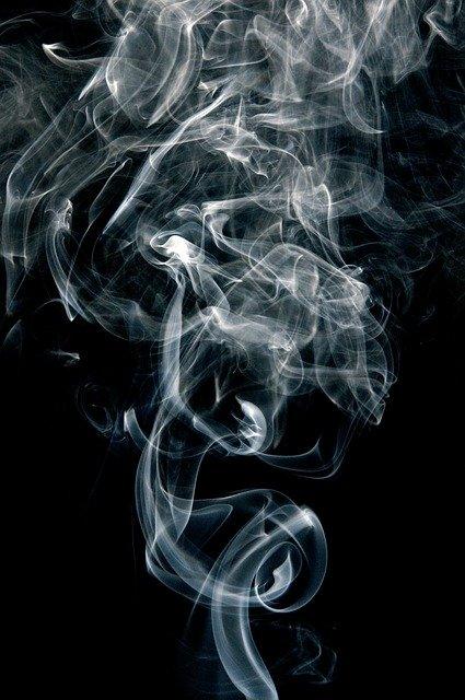 E cigaret røg
